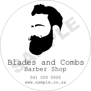 Barber Business Sticker